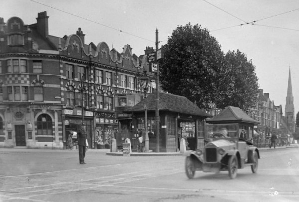Tram in Stamford Hill 1920s/30s