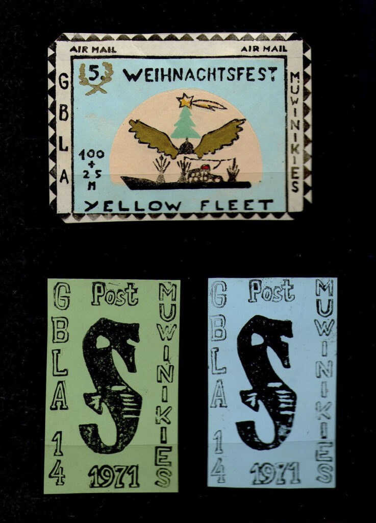 GBLA stamps